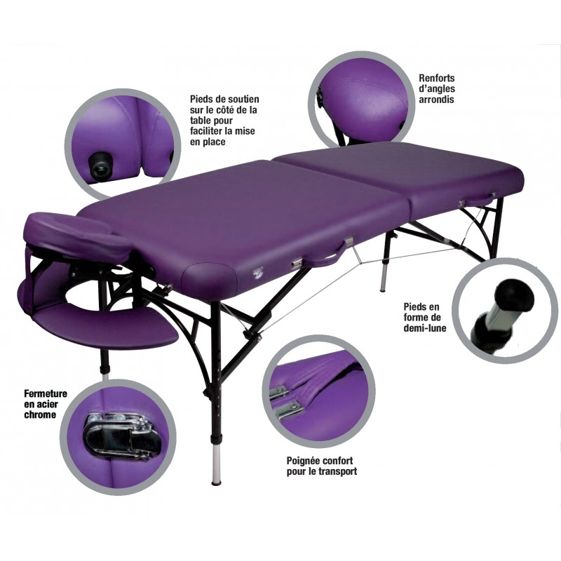 Table de massage pliable rhea prodhex - Table massage pliable ...