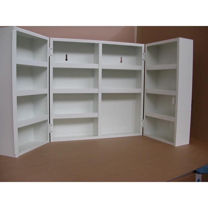 armoire pharmacie m tal maxi vide prodhex. Black Bedroom Furniture Sets. Home Design Ideas