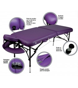 Table de Massage Pliable RHEA