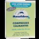 Boite de 8 Compresses Moustidose Calmante